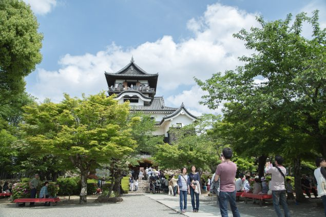 初夏の犬山城